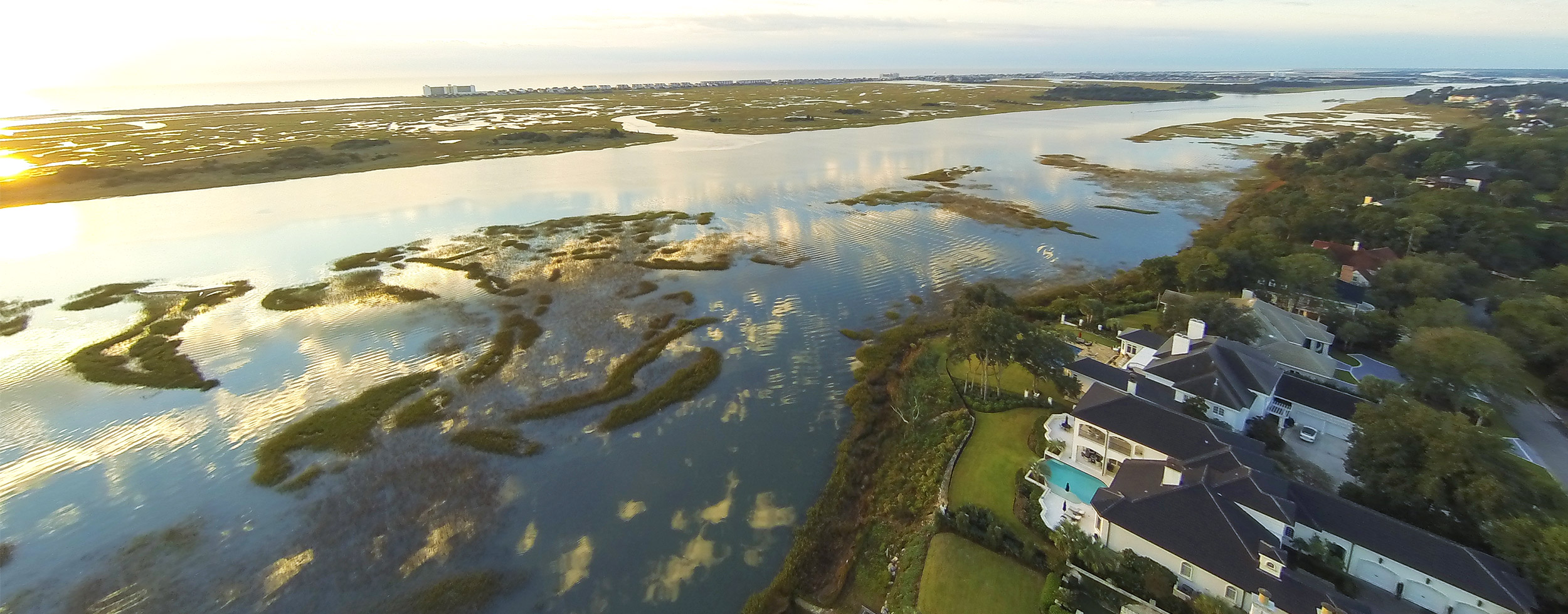 Landfall Realty View golf course homes for sale located in