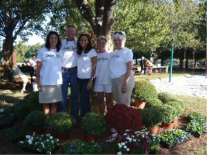 Landfall Realty Realtors volunteering at last years Fall Festival