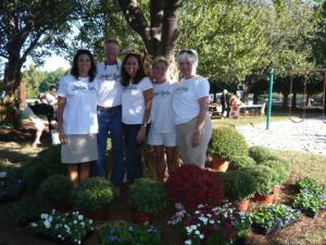 Landfall Realty Realtors volunteering at last years Fall Festival
